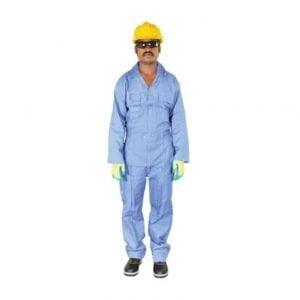 Coverall Petrol Blue Color Vaultex