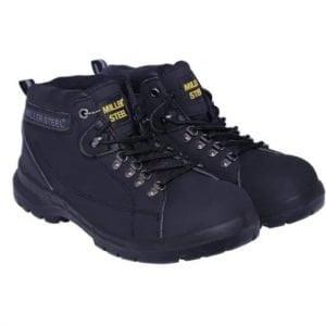 Black Safety Shoes High Ankle Miller