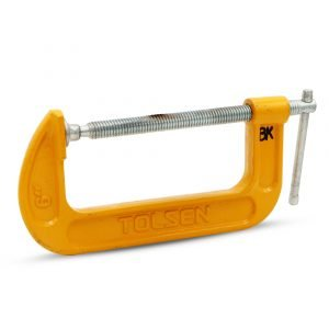 C-Clamp Tool, Yellow/Silver