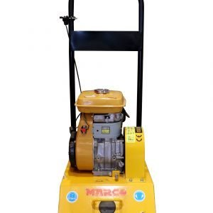 Compactor Plate C-90, Yellow/Black