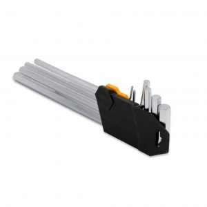 9 Pieces Extra Long Arm Hex Key Set – 1.5 to 10 mm