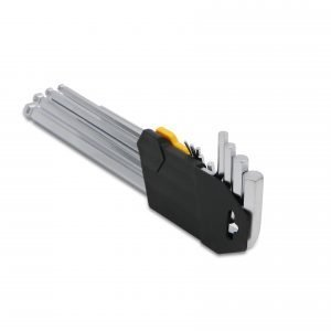 9 Pieces Ball Point Extra Long Arm Hex Key Set – 1.5 to 10 mm