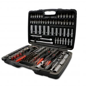 172 Pieces Socket Set – Black