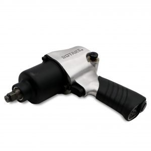 Air Impact Wrench – Silver/Black, 1/2 Inch