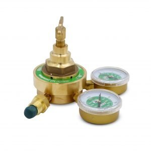 Gas Flow Meter Regulator – Gold
