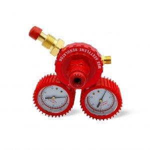 M68 Acetylene Regulator – Red