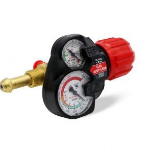 Edge Series 15-993 Acetylene Regulator – Red