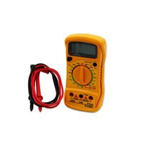Digital Multimeter – Yellow