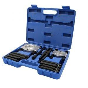 12 Pieces Bearing Separator & Puller Set – Blue