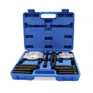 12 Pieces Bearing Separator & Puller Set – Blue