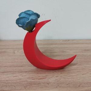 Moon Flower Vase
